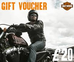 harley davidson gift vouchers available online