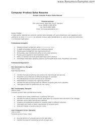 Computer Skills For A Resume. Cliffsnotes Biology Quick Review ...