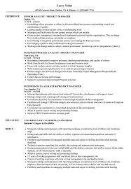 Analyst Project Manager Resume Samples Velvet Jobs