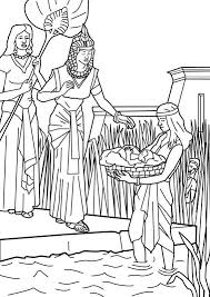 Miriam And Moses Coloring Page Fresh Miriam And Moses Coloring Page