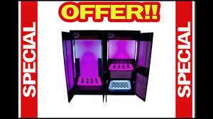 Hydroponic Grow Cabinet Best Buy Supercloset Grow Box Led Trinity 30 Led Grow Cabinet