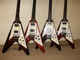 the 1967 1971 gibson flying v website home full body shots the cherry flying v on the end is actually a 2001 historic series 1967 flying v i discuss the differences between the historic series and