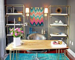 colorful home office. view in gallery dashing contemporary home office blends gray with colorful zest design ku0026l interiors r