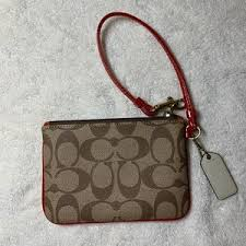Coach Bags - Coach Monogram Carriage Wristlet