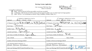 instruction to fill los angeles marriage license application form instruction to fill los angeles marriage license application form