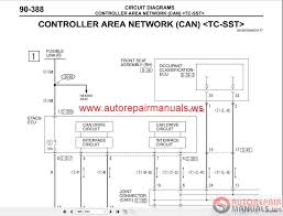 mitsubishi lancer evolution x 2010 wiring diagrams auto repair