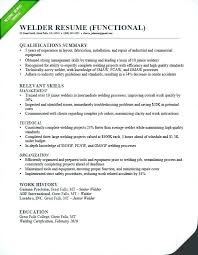 Journeyman Welder Sample Resume Inspiration Certified Welder Resume Kenicandlecomfortzone