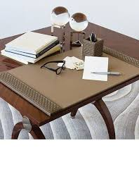 desk accessories luxury designer executive mink leather desk pad so beautiful inspire your