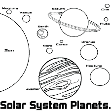 Solar System Coloring Pages Free Printable Pictures To Color Sheets