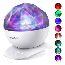 Soaiy Night Light Projector Aurora Night Light Projector Lights Soaiy 8 Changing