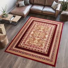 Designer Floor Rugs Details About New Small Medium Large Red Rug Designer Floor Carpet Traditional Floral Pattern