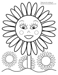 Sunflower Coloring Pages By Claude Monet Mandala Plants For ...