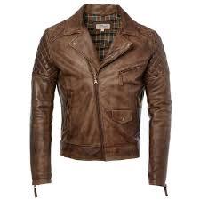 leather biker jacket timber soltau