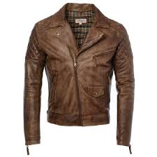 leather biker jacket timber soltau