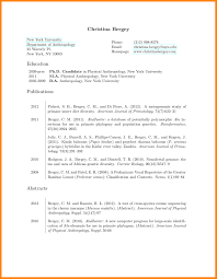 8 How To Make An Academic Resume Offecial Letter