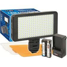 Camera Light On Computer Vidpro Ultra Slim Led 230 On Camera Video Lighting Kit
