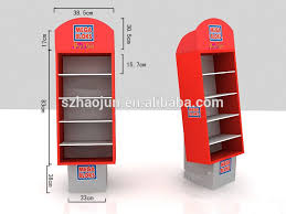 In Store Display Stands Paper Cardboard Pallet Showing Stand car Perfume Pos Display 13