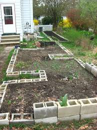 Small Picture 33 best Concrete Block Raised Bed Gardening images on Pinterest