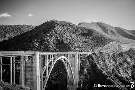 Bixby Creek Bridge (Big Sur, CA) - Black & White