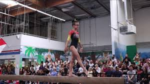 Ava Carpenter 2nd Place Beam Masquerade Mania 2018 Wildfire Gymnast Level 3  - YouTube