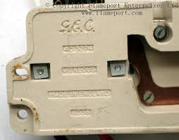gec metal 3 way fusebox backstamp on ceramic gec fuse box inner part