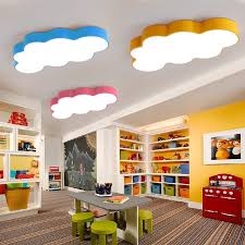 lighting for kids rooms. aliexpresscom buy led cloud boys bedroom lights room children baby ceiling lamp with yellow blue red white girls fixtures from reliable lighting for kids rooms