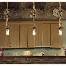 country style lighting lightinthebox retro 1 lamp hemp rope chandelier pendant lights lighting farmhouse light fixtures p45