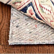 non slip rug pads for tile floors pad carpet canada runner best furniture delightful hard