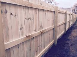 just like this picture form a wood fence installation in madison heights michigan