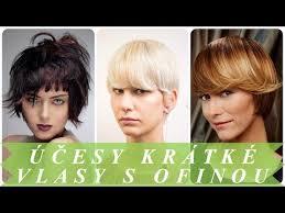 Moderní účesy Krátké Vlasy S Ofinou ženy 2018 účesy A Střihy