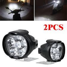 Motorbike Fog Lights Details About 2pcs Car Motorcycle Headlight Spot Fog Lights 6 Led Front Head Lamp 12v 10w Atv