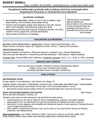 Statistical Programmer Sample Resume Stunning Résumé Samples Jane Falter