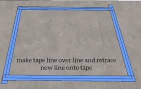 transfer sink line to tape