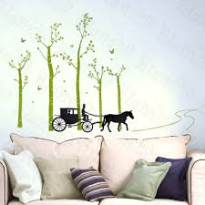 stickers for home decor living room diy black wall art decals