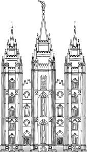 Small Picture Salt Lake City Temple Coloring Page Printable Coloring Pages For