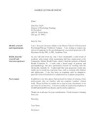 Letter Of Intent For Teaching Certification Mediafoxstudio Com