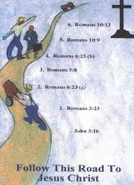 Image result for Roman road to salvation