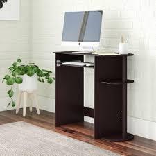 Computer desk small Amazon Quickview Wayfair Very Small Computer Desk Wayfair