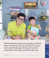 Ông bố MC gợi ý bố mẹ kĩ thuật trò chuyện giúp trẻ chậm nói nhanh biết nói