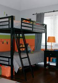 Kids Bedroom Ideas with Black Metal Bunk Bed How to Decorate Kids Bedroom  with Metal Bunk
