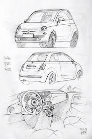 756x1136 car drawing 151218 2015 fiat 500 prisma on paper kim j h daily
