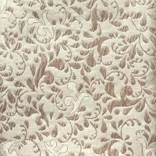 Floral Brocade Vintage Cream And Pale Bronze Floral Brocade