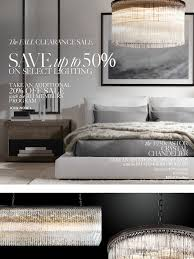 restoration hardware save up to 50 on select lighting at the fall clearance milled