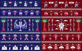 Christmas Pattern Sweater Awesome Decorating