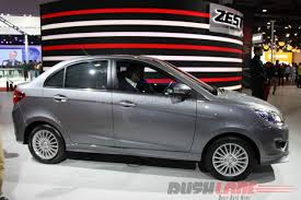 new launched car zestTata Zest in a new sporty avatar  2016 Auto Expo