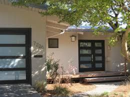 mid century modern garage doors with windows. The New Double Door Mirrors Design Of Garage Door, Transforming Façade This SW Portland Mid-century Modern Home. Mid Century Doors With Windows G