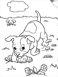 realistic puppy coloring pages. Simple Realistic Realistic Puppy Coloring Page Throughout Pages O