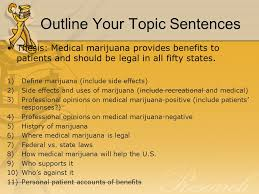 research paper writing the body you tube paragraph overview 20 outline your topic sentences thesis medical marijuana