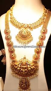 Jos Alukkas Chain Designs Peacock Ruby Long Set By Joyalukkas Jewellery Designs
