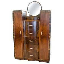 art walnut dresser or antique chifferobe id f